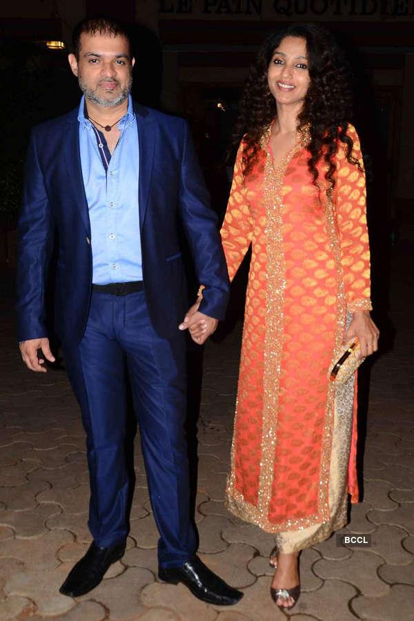 Celebs @ Queenie Singh's wedding party