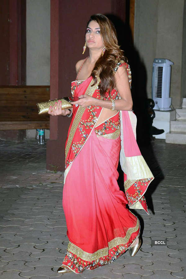 Celebs @ Queenie Singh's wedding party