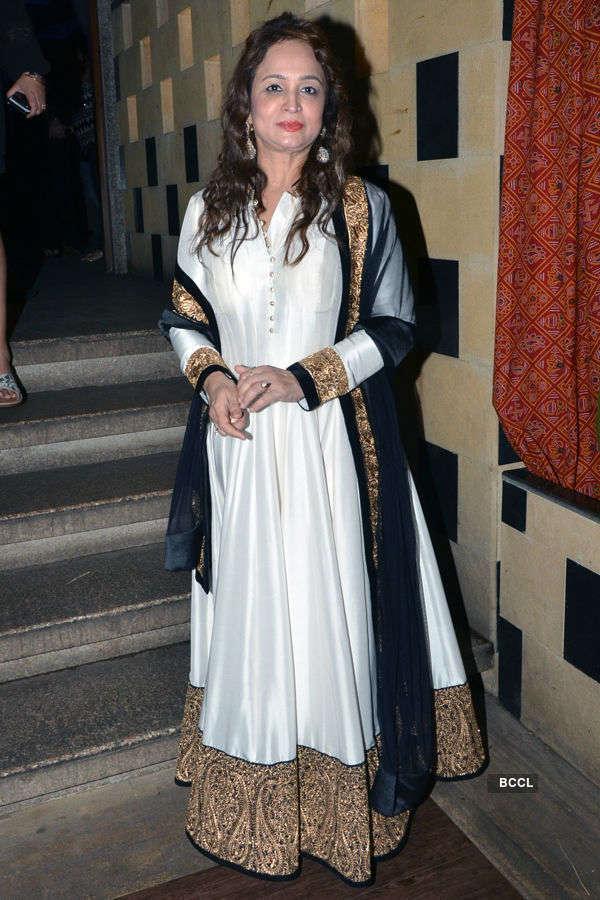 Celebs @ Smita Thackeray's b'day party