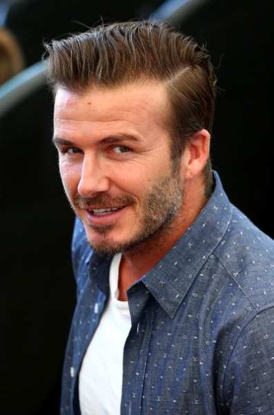 David Beckham had signed a deal with Motorola