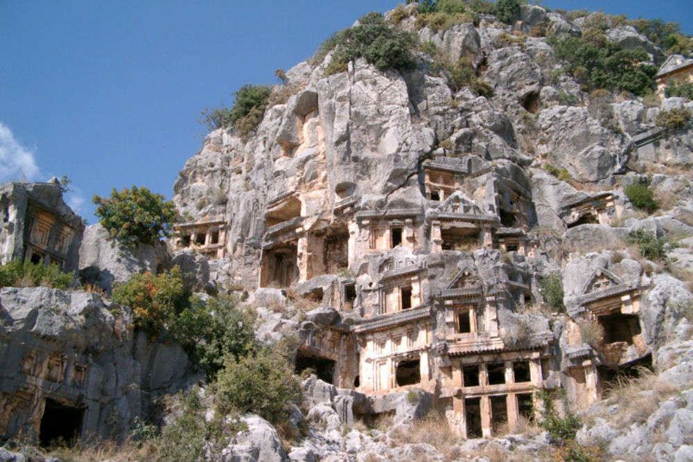 Myra Ruins ummahtrip halal holidays antalya