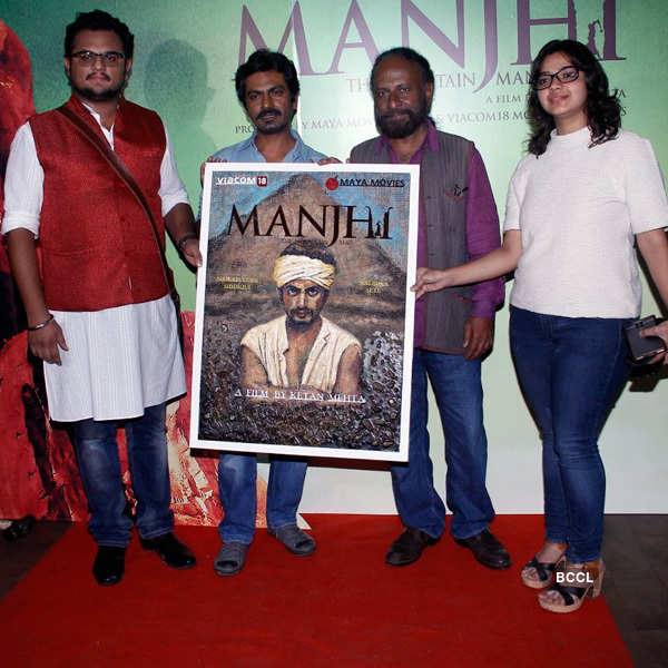 Manjhi: The Mountain Man: Screening