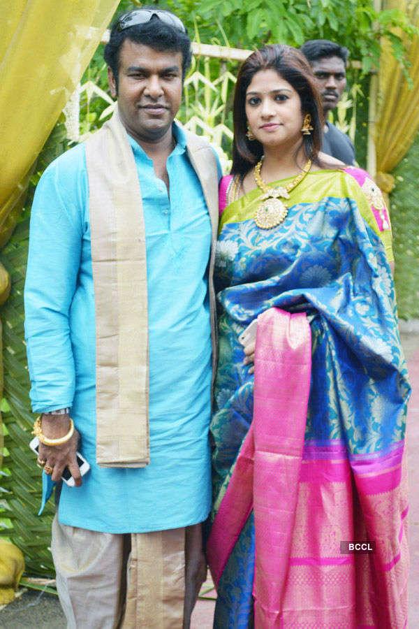 Shanthanu Bhagyaraj weds Keerthi
