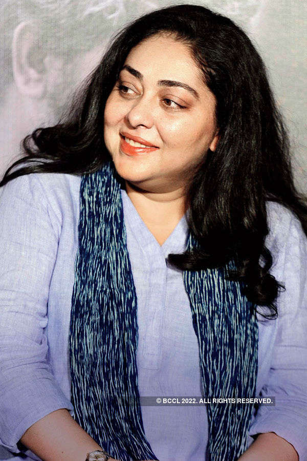 Meghna Gulzar during the trailer launch