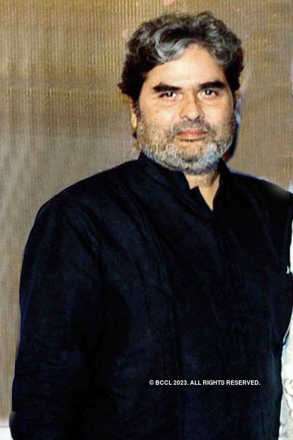 Vishal Bhardwaj during the trailer launch