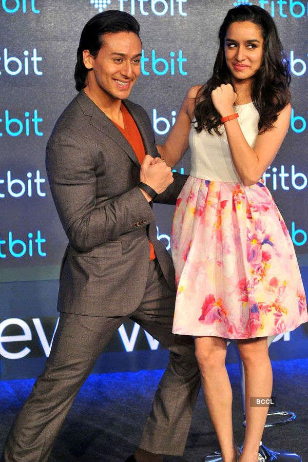 Tiger, Shraddha launch Fitbit