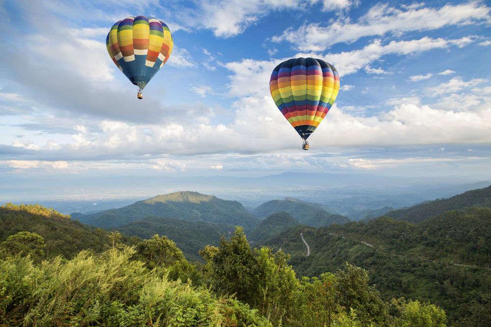 Hot air Ballooning in Chiang Mai