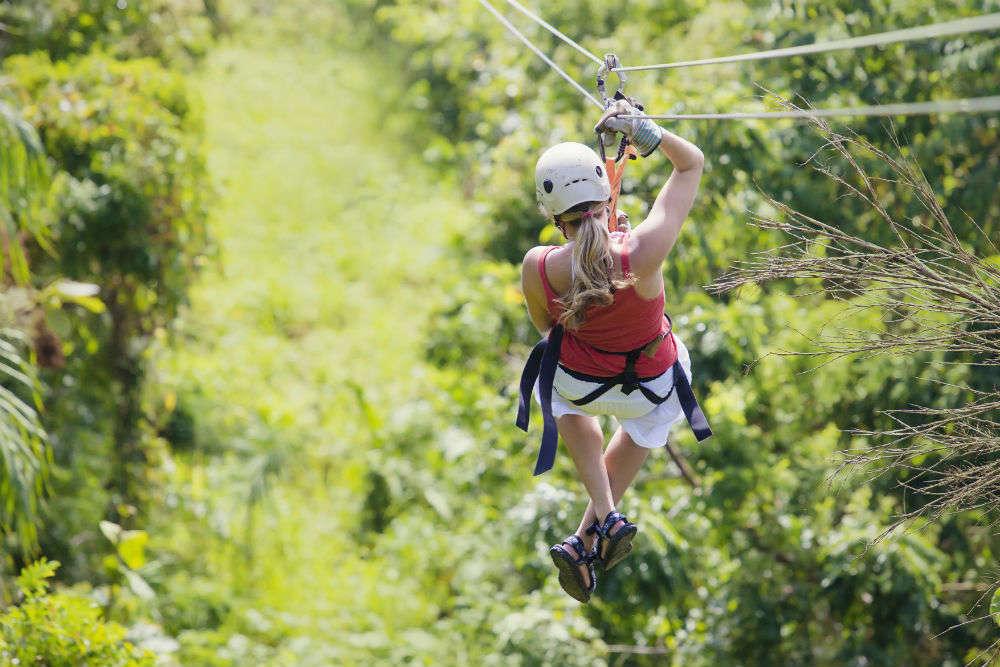Ziplining in Chiang Mai