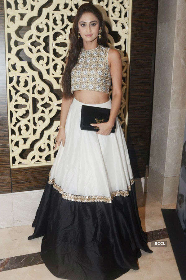 Krystle D'Souza during the Lakme Fashion