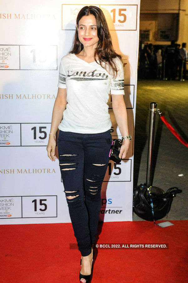Ameesha Patel during the Lakme Fashion