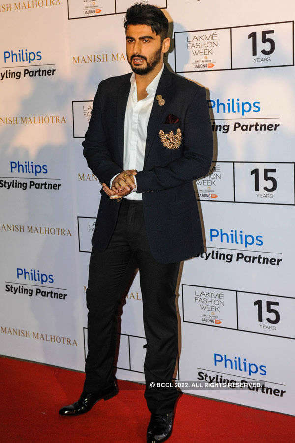 Arjun Kapoor during the Lakme Fashion