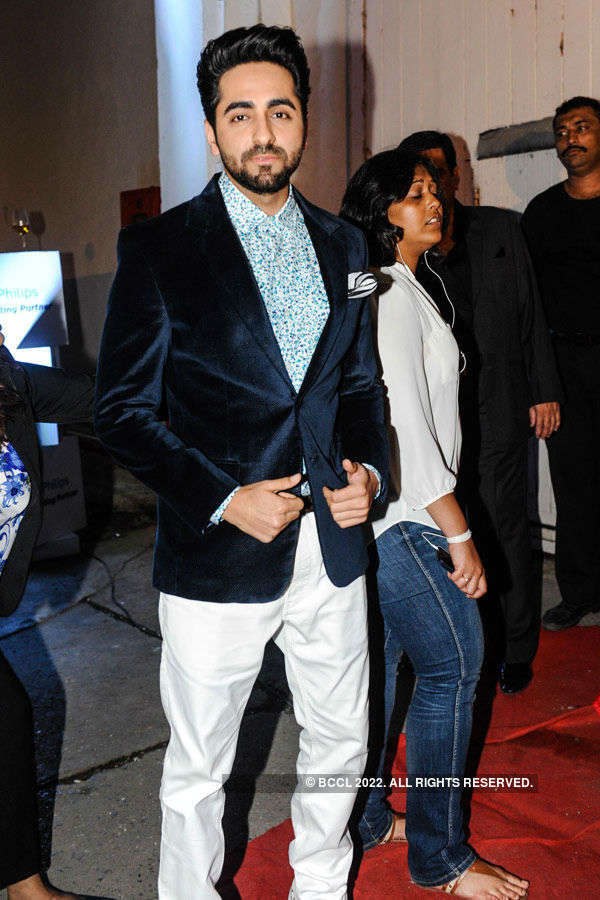 Ayushmann Khurrana during the Lakme