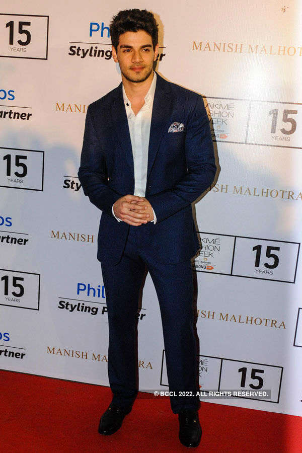 Sooraj Pancholi poses during the Lakme