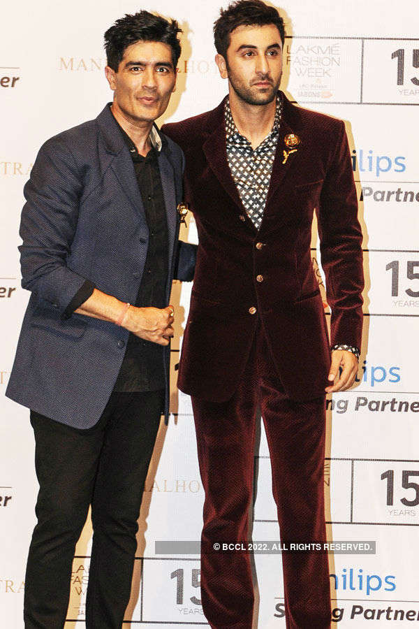 Manish Malhotra and Ranbir Kapoor