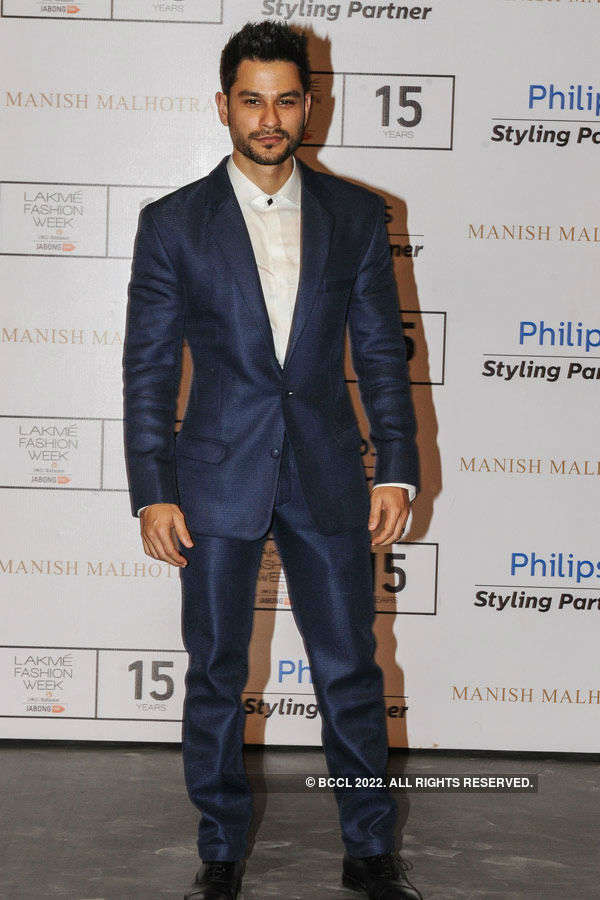 Kunal Khemu during the Lakme Fashion