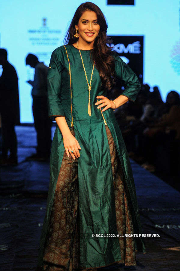 Rashmi Nigam during the Lakme Fashion