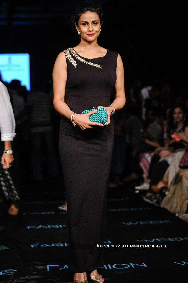 Gul Panag during the Lakme Fashion