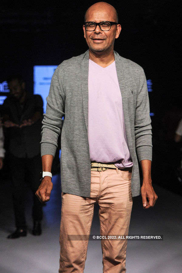 Narendra Kumar during the Lakme Fashion