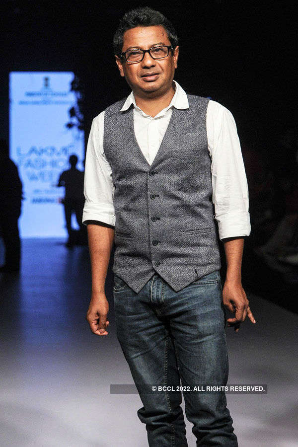 Onir during the Lakme Fashion