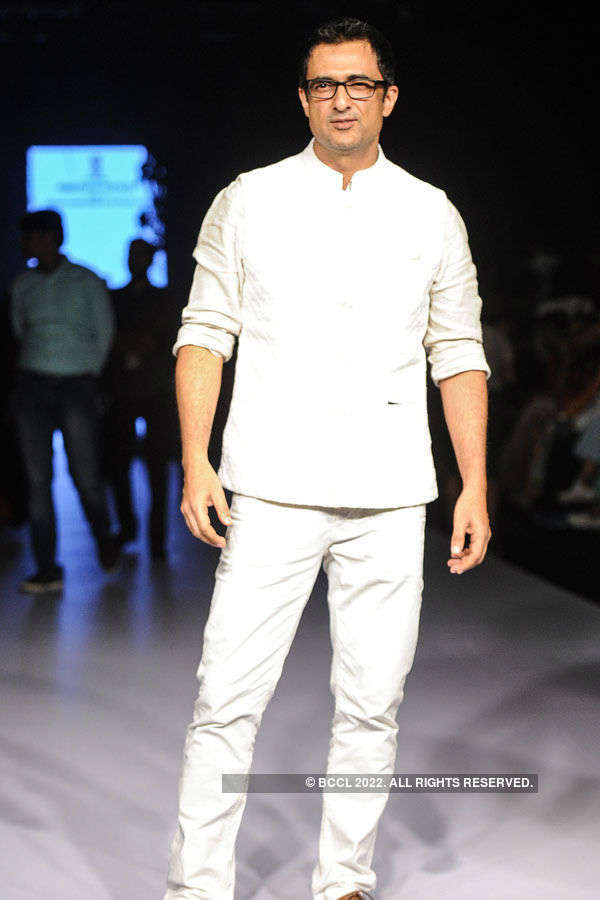 Sanjay Suri during the Lakme Fashion