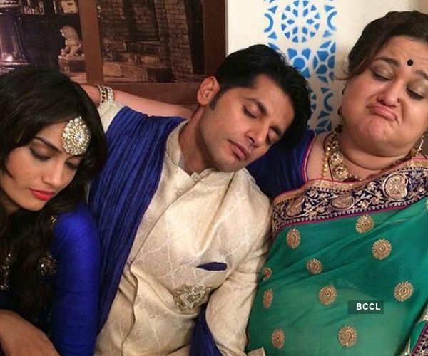TV actors Surbhi Jyoti and Karanvir