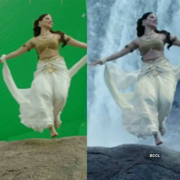 Check out how to dance across the waterfalls