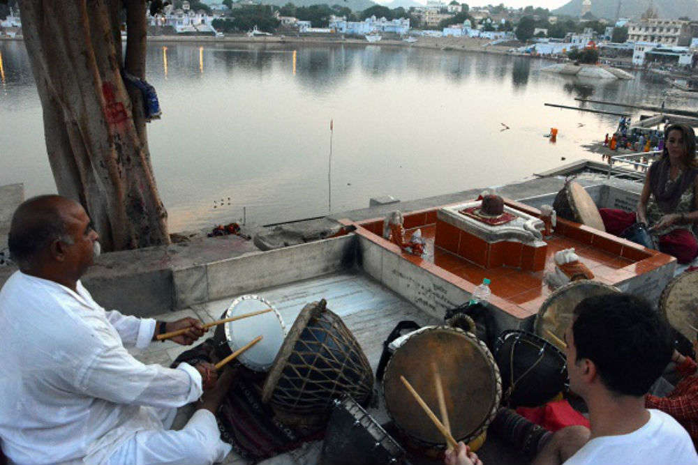 Take Nagara lessons at Gangaur Ghat