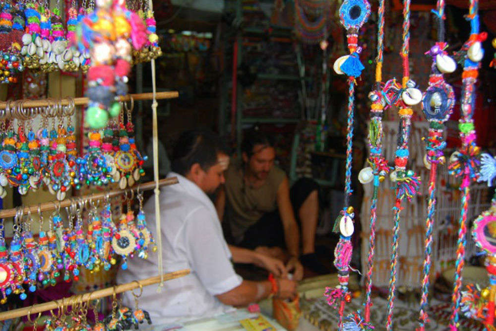 Shop in Pushkar market