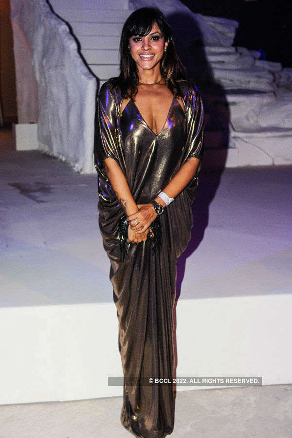 Manasi Scott during the Lakme Fashion