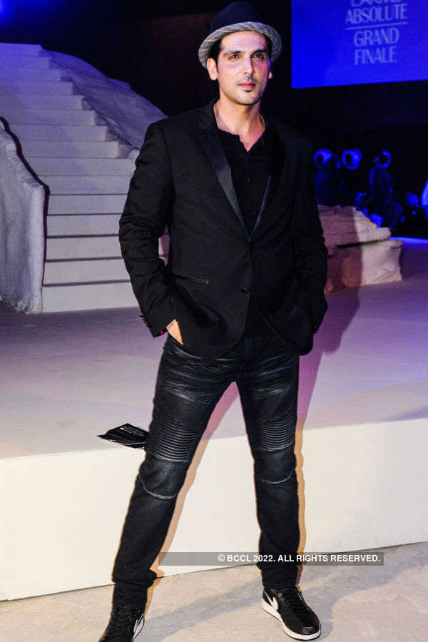 Zayed Khan during the Lakme Fashion