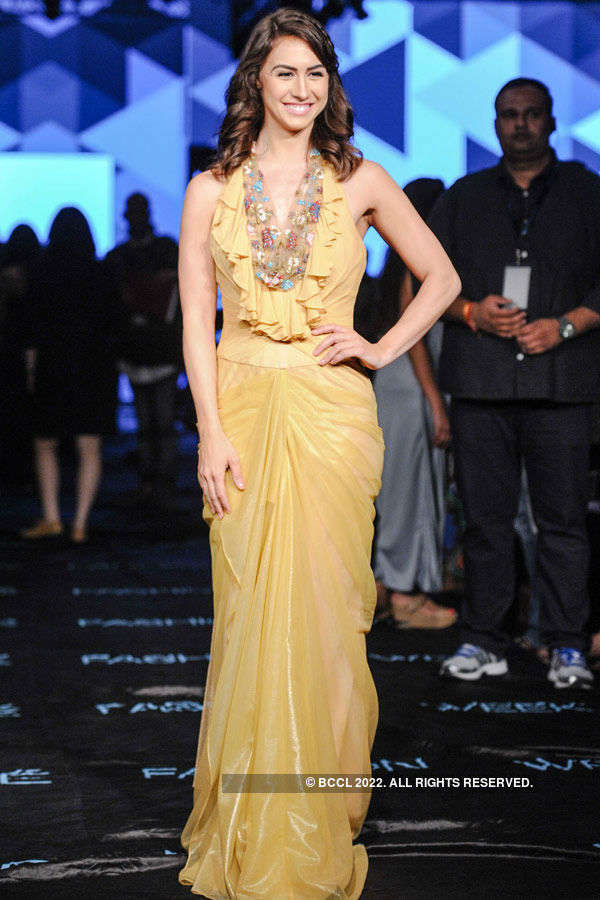 Lauren Gottlieb during the Lakme Fashion
