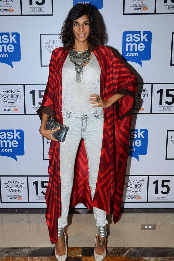 Anushka Manchanda during the Lakme
