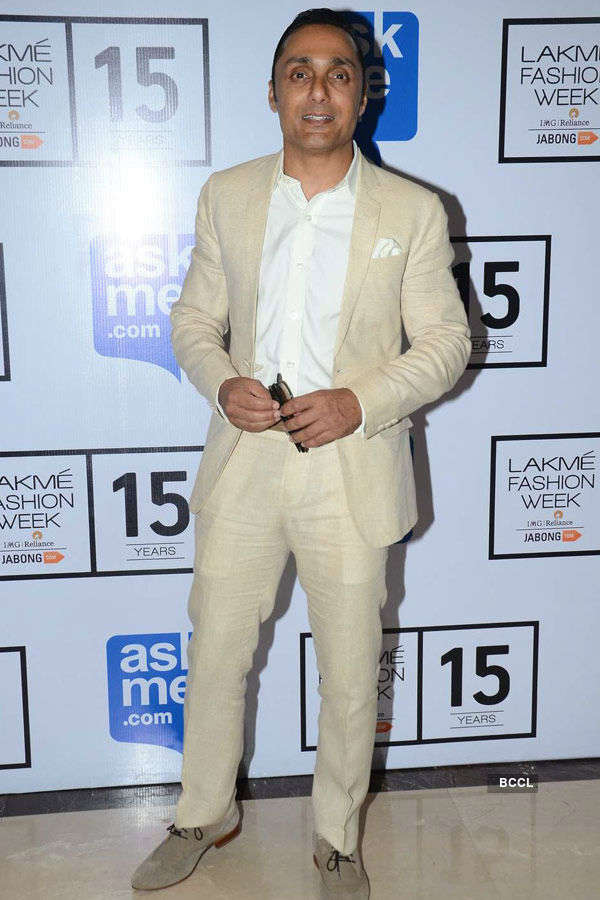 Rahul Bose during the Lakme Fashion