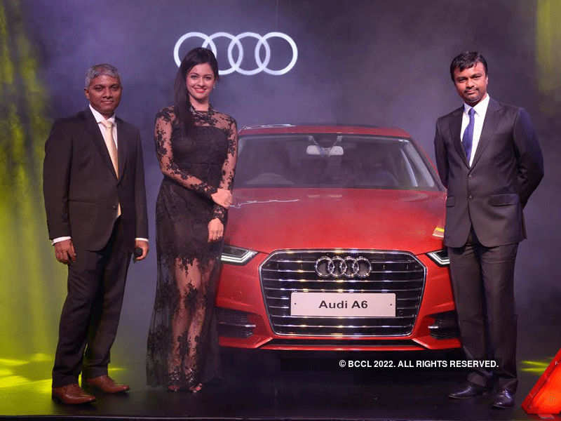 Pooja Kumar unveils Audi A6 Matrix