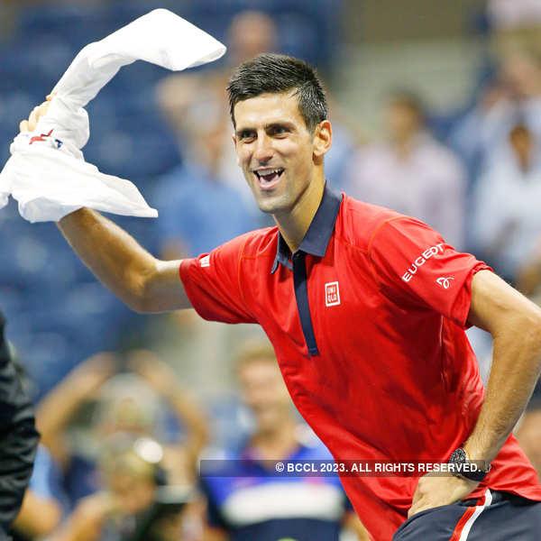 Djokovic storms into US Open third round