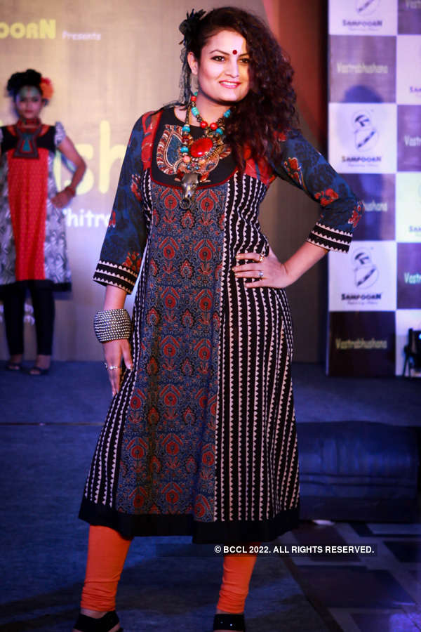 Fashion show @ Chitralakha Parishad