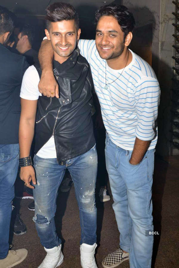 Celebs @ Sargun Mehta's b'day party