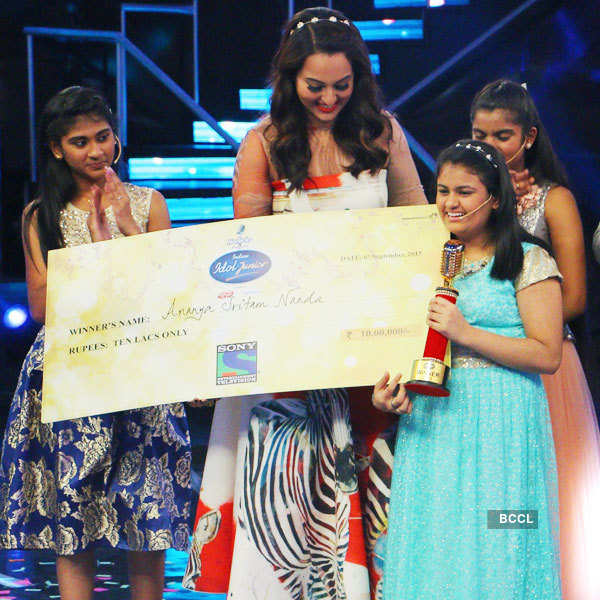 Indian Idol Junior: On the sets