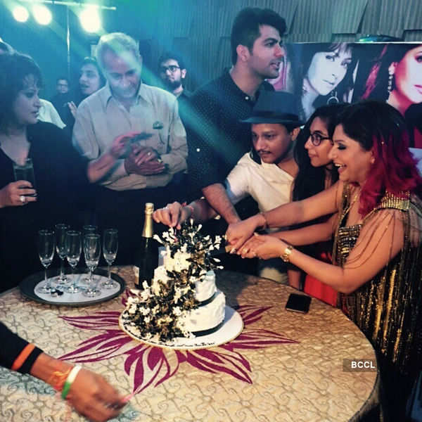 Janvi Vora's b'day party