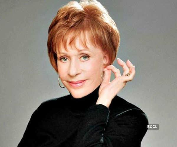 American actress-comedian Carol