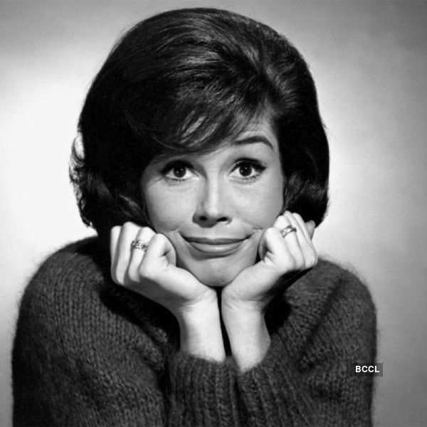 American actress Mary Tyler Moore