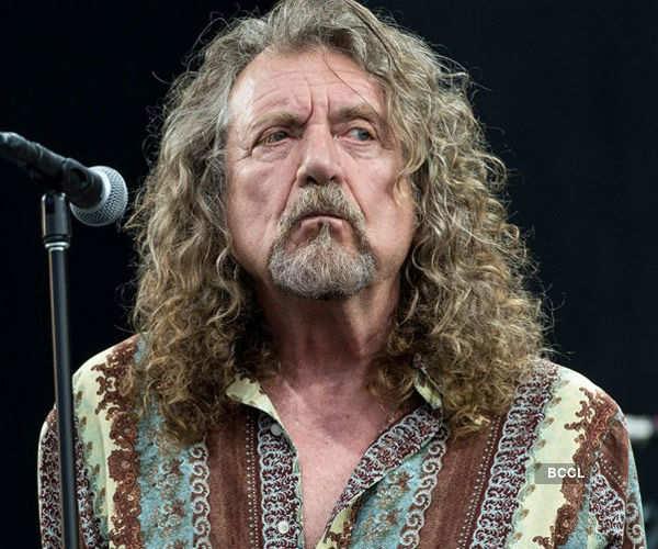 English musician Robert Plant