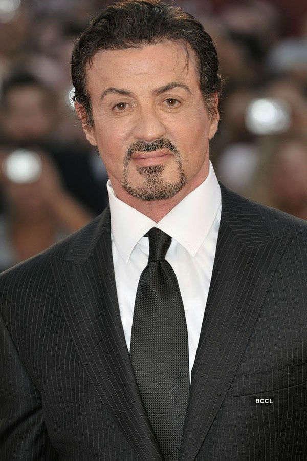American actor Sylvester Stallone