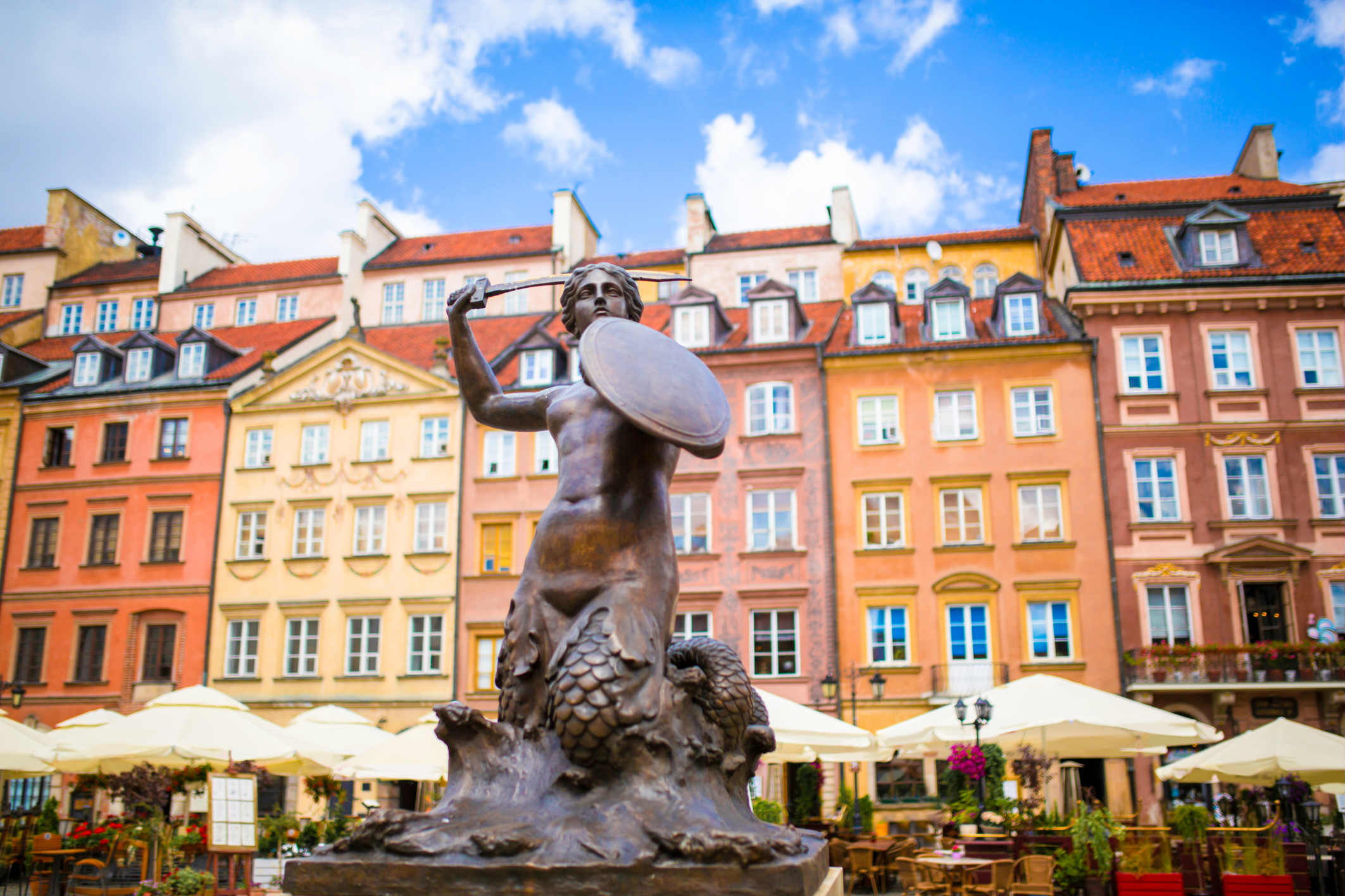 Poland - the main attractions of the old and new Warsaw