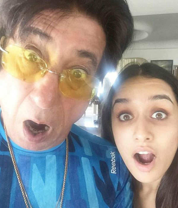 Shraddha Kapoor poses for a selfie