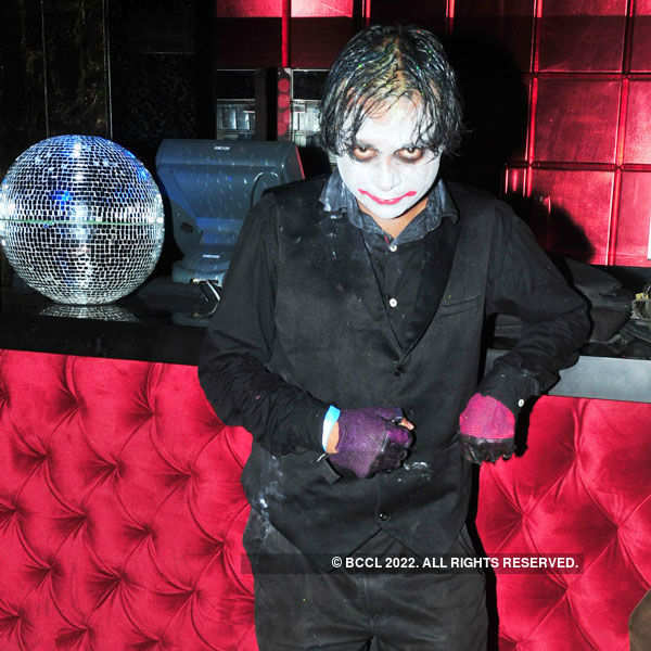 Cosplayers party in Hyderabad