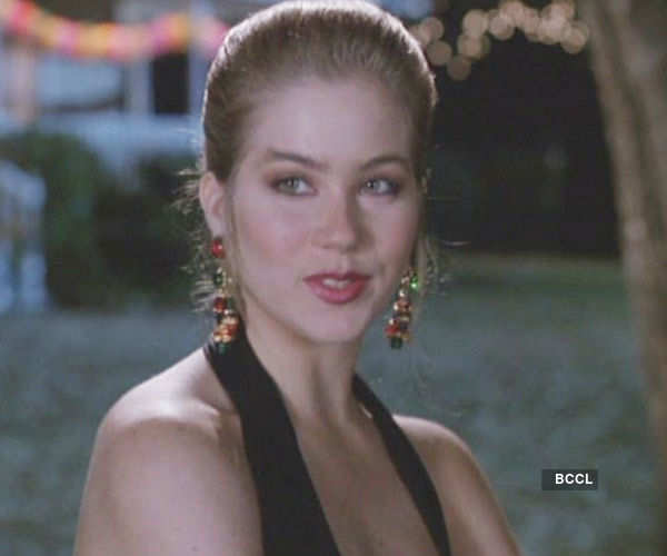 American actress-dancer Christina Applegate