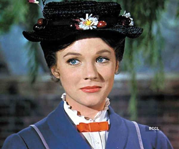 English actress Julie Andrews