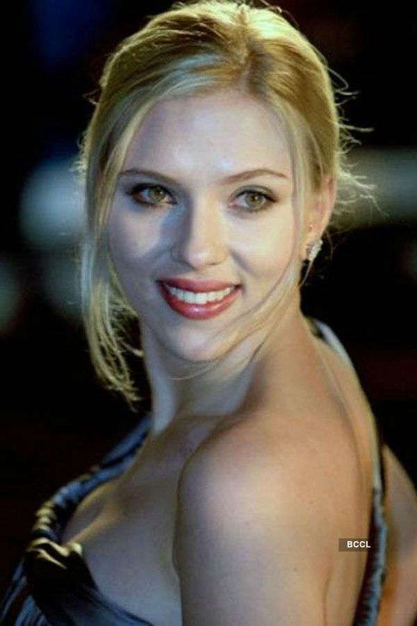 American actress-model Scarlett
