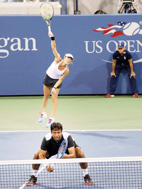 US Open: Paes, Sania in US Open finals